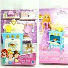 Disney Princess Royal Kitchen Furniture Pink Set Oven Pot Muffins doll barbie