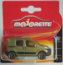 Majorette Peugeot Bipper grünmetallic Neu/OVP ERROR!!! Citroen Nemo Transporter