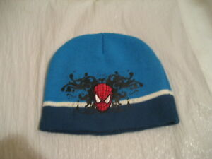 MARVEL SPIDERMAN, beanie cap fits youth to adult, excellent condition