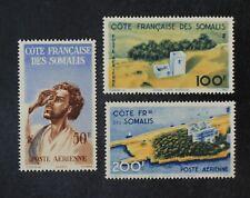 CKStamps: Somali Coast Stamps Collection Scott#C15-C17 Mint NH OG