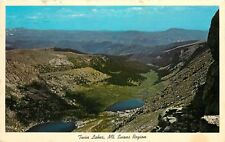 Twin Lakes Mt Evans Region Colorado pm 1974 Postcard
