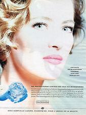 PUBLICITE ADVERTISING 124  1992  DIADERMINE   cosmétiques