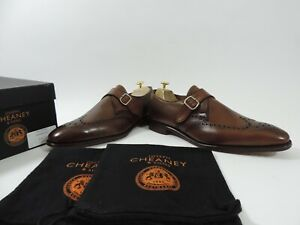 Church's Cheaney Mens Shoes Brogue Buckle Worn Once UK 9.5 US 10.5 EU 43.5 F