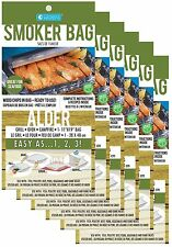 THE SAVU Smoker Bags!   12 Pack - ALDER  - Turn Your Oven into a Grill!