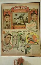 Hassen Cork Tip , Ty Cobb Steals 3rd, May, 1912 Reproduction Poster, Gift! Sport