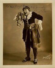 VITTORIO TREVISAN opera basso buffo signed photo as Don Bartolo