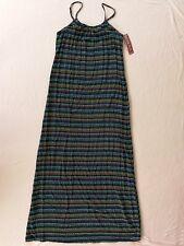 Merona™ Women's Printed Navy Stripe Strappy Maxi Dress Navy XS