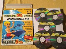 Ponkys Power Paket Grundschule I Deutsch Mathe Kopfrechnen Software 1. + 2. Kl.