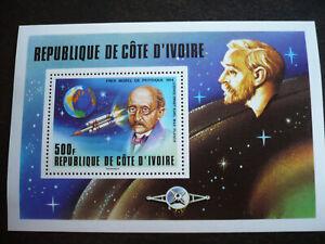 Stamps - Ivory Coast - Scott# 465 - Souvenir Sheet