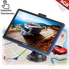 "7"" 8GB Sat Nav 256MB Car HGV GPS Navigation Free POI Maps Speedcam Updates XGODY"