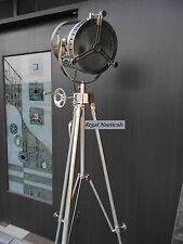HOLLYWOOD SEARCHLIGHT SPOT LIGHT FLOOR LAMP REVOLVING LIGHT AND TRIPOD