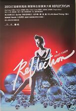 "KELLY CHEN ""REFLECTION"" ASIAN PROMO POSTER - Cantopop Hong Kong Singer Actress"