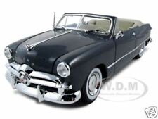 1949 FORD CONVERTIBLE GRAY 1:18 DIECAST MODEL CAR BY MAISTO 31682