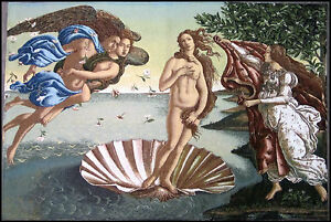 Wall Carpet From Italy Wall Nascita Di Venere Sandro Botticelli 100 X 70 CM