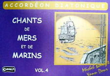 Accordéon diatonique Tablatures Chants de Marins n° 4 neuf avec CD