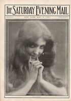1912 Saturday Evening Mail May 4 - Edna Ferber;Meadowbrook Fox Hunt;Panama Canal