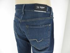 NWT 7 Seven For All Mankind, Men's Jeans, STANDARD, Straight Leg, AIN, Size 34