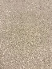 4.20 X 4m Hard Wearing Easy Clean Carpet Remnant Super Ultimate Twist Silk Cream