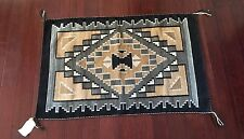 Native American Two Grey Hills Rug All Natural Sheep Wool Colors Original Tag