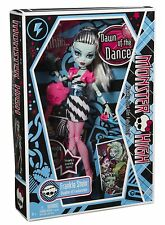 MONSTER HIGH DAWN OF THE DANCE DOLL FRANKIE STEIN NEW SEALED! FIRST EDITION