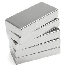N52 Super Strong Block Cuboid Disc Magnet 50x25x10mm Rare Earth Neodymium Kit