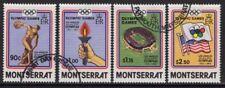 MONTSERRAT SG595/8 1984 OLYMPIC GAMES FINE USED