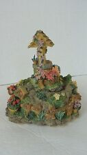 Westland Musical Figurine Wishing Well in a Garden #2553 Everything is Beautiful