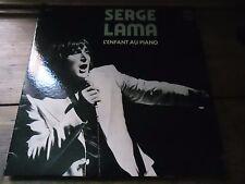33 TOURS / LP--SERGE LAMA--L'ENFANT AU PIANO--1977