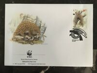 1995 Macau First Day Cover FDC World Wide Fund For Nature Asian Pangolin