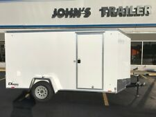 NEW 6X12 ENCLOSED CARGO EXPRESS DELUXE TRAILER WITH RAMP AND V-NOSE 2018 SPECIAL