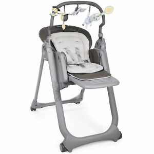 Chicco Polly Magic 3 Mode Baby / Child Feeding High Chair Anthracite 0 - 3 Years