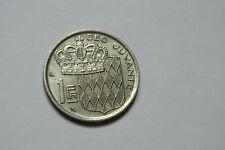 MONACO 1 franc 1968  belle monnaie