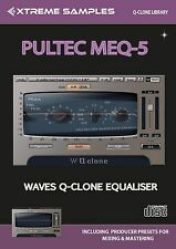 Xtreme Samples Pultec MEQ-5 Waves Q-Clone Library