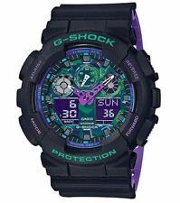 Casio G-Shock Men's Quartz Digital World Time Alarm 55mm Watch GA-100BL-1A