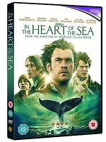 The Heart Of The Mer Chris Hemsworth Cillian Murphy Warner GB 2016 DVD UV Neuf