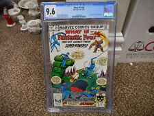 What If 36 cgc 9.6 Marvel 1982 Fantastic Four #1 cover homage swipe WHITE pgs NM