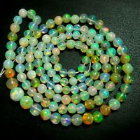 16 Inches 4-7  MM Fire Opal Opal Fire Square Natural Ethiopian Multi Fire Welo Opal Square Beads Opal Square