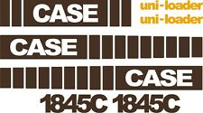 Case 1845C replacement decals sticker / Decal kit MID