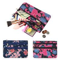 Portable Coin Purse Wallet Organizer Zipper Pocket Pouch Bag