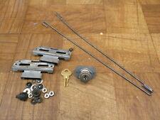 Rock-Ola Jukebox 490/494 Main Door Lock w/ Key & Locking Hardware