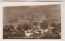 Devon postcard - Widecombe in the Moor, Moorland Road - RP