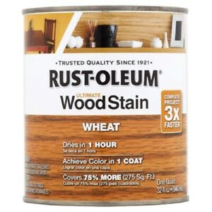 Rust-Oleum Ultimate Wood Stain Wheat - 1 Quart