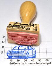 "VW Golf 1 Cabrio ""Erdbeerkörbchen""  als toller Autostempel - rubberstamp"