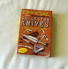 THE OFFICIAL 1983 PRICE GUIDE TO COLLECTOR KNIVES