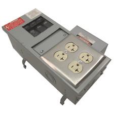 Ge Busway 600 Vac 100a 3 Ph Circuit Breaker Box Flex A Plug Busplug 5 20rl6 30r