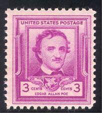 USA 1949 Edgar Allan Poe/Authors/People/Writers/Books/Literature 1v (n43334)
