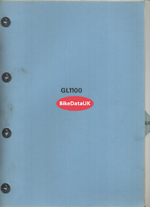 Honda GL1100 Standard SC02 (80-81) Genuine Set-Up Manual GL 1100 Gold Wing DV13