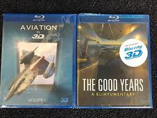 Twin Pack: Blu-Ray 3D Aviation Films (The Good Years, Aviation in 3D)