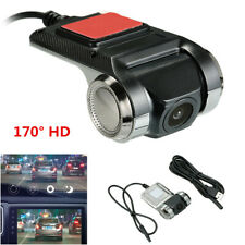 170° Full HD Mini Hidden Car Truck Dash DVR Camera Video Recorder ADAS G-sensor