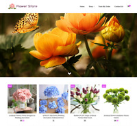Established Flower Turnkey Website BUSINESS For Sale - Profitable DropShipping